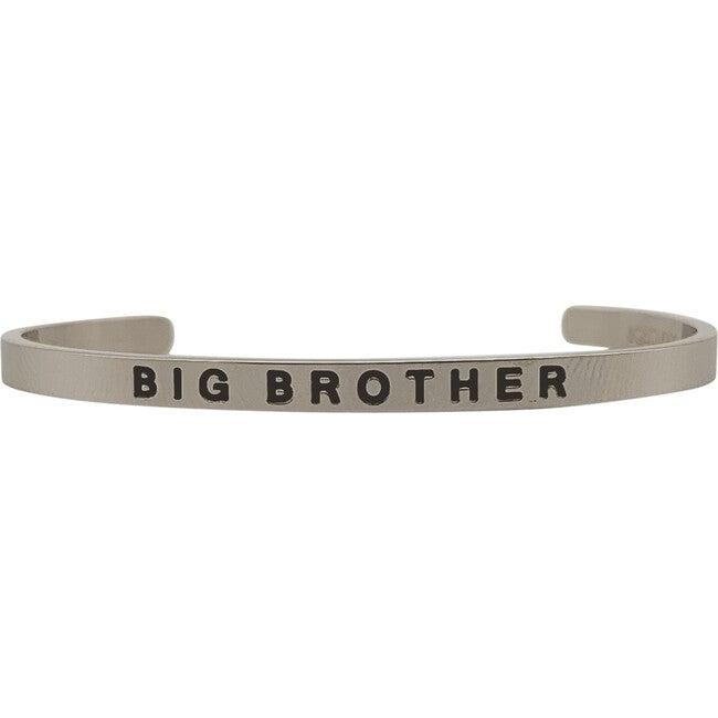 Baby & Child Big Brother Bracelet, Silver - Bracelets - 1