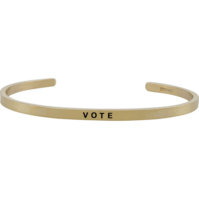 *Exclusive* Youth Vote Bracelet, Gold