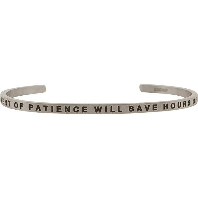 Women's Patience Bracelet, Silver
