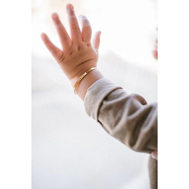 *Exclusive* Baby Vote Bracelet, Gold