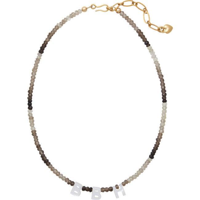 Say My Name Necklace, Smoky Quartz - Necklaces - 1