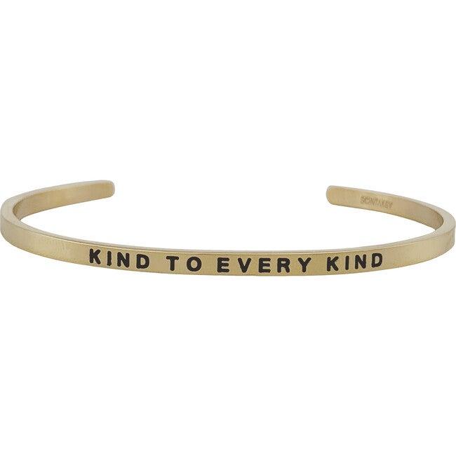 "Women's ""Kind to Every Kind"" Bracelet, Gold"