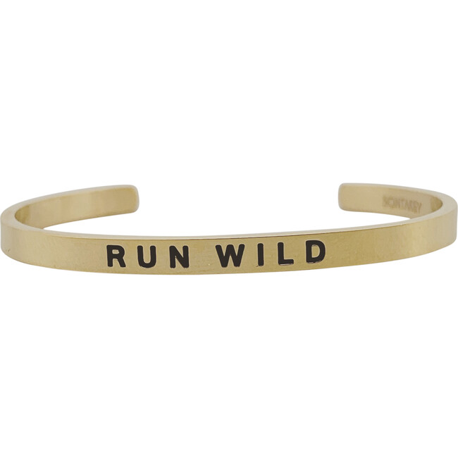 """Baby & Child """"Run Wild"""" Bracelet, Gold"""