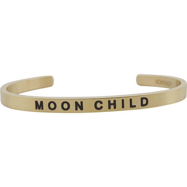 "Baby & Child ""Moon Child"" Bracelet, Gold"