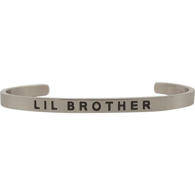 Baby & Child Lil Brother Bracelet, Silver