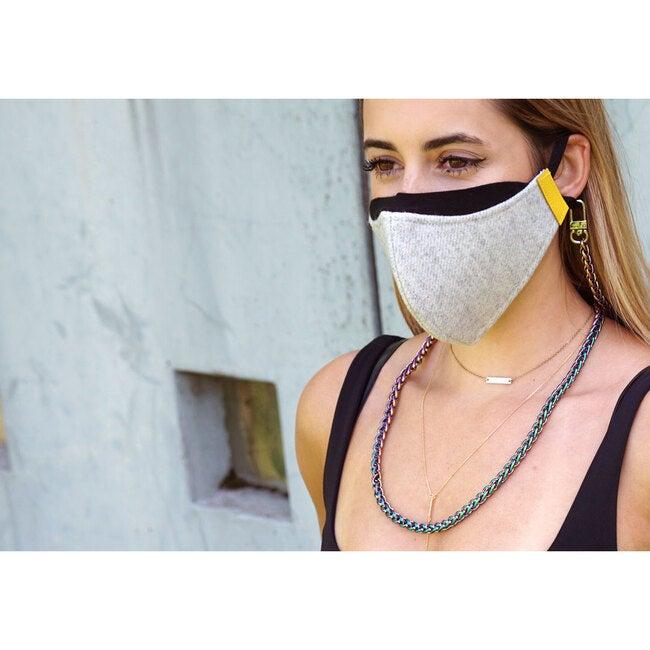 Nikki Long Face Mask Chain Strap, Mermaid