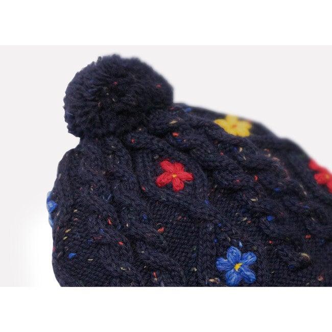 Wild Flower Hat, Navy