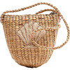 Shell Handwoven Tote, Nude - Bags - 1 - thumbnail