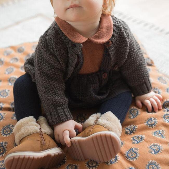 Furka Textured Knit Sweater, Grey
