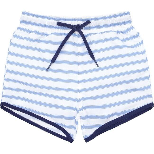 Boys Boca Blue Stripe Boardie