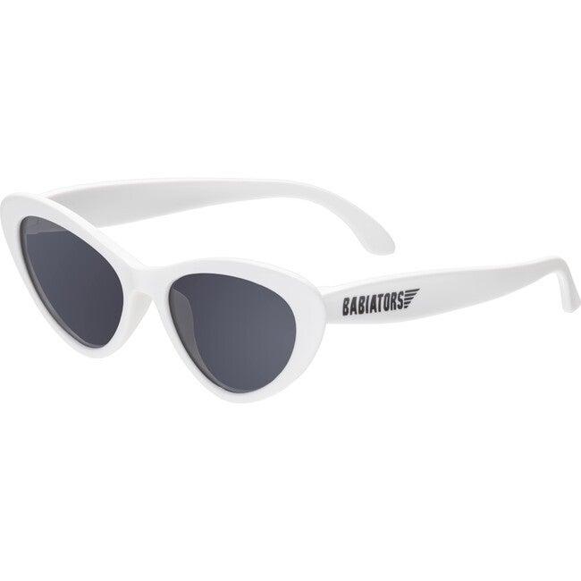 Cat-Eye Sunglasses, Wicked White