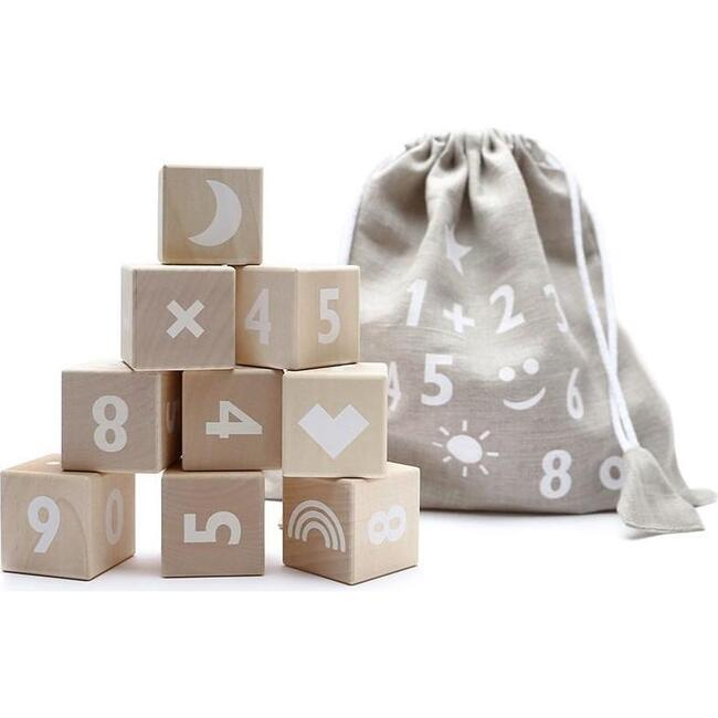 Math Blocks, White