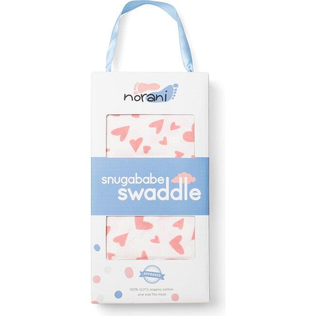 Snugababe Swaddle, Pink Hearts