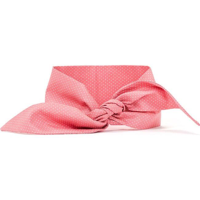 Necktie, Pink Polkadot - Dog Bandanas & Neckties - 1
