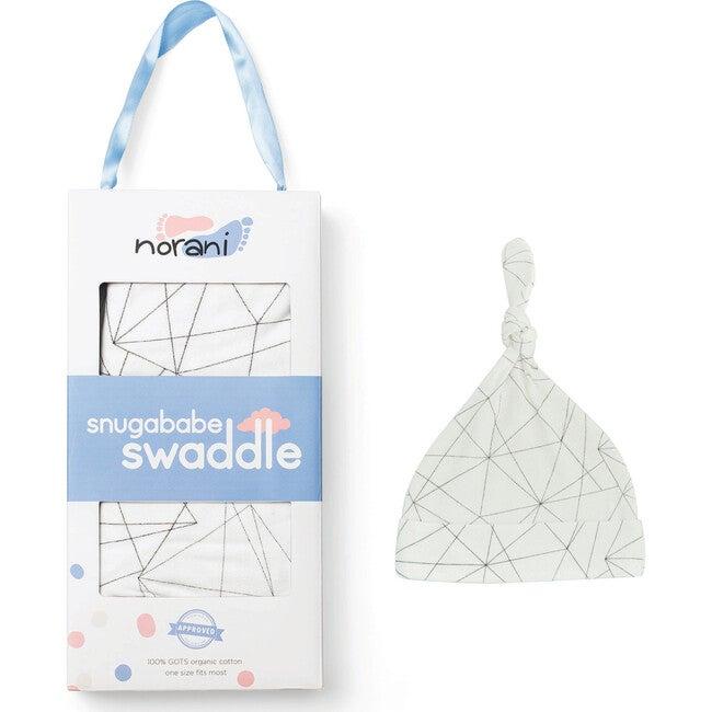 Snugababe Bundle, Black and White Geometric