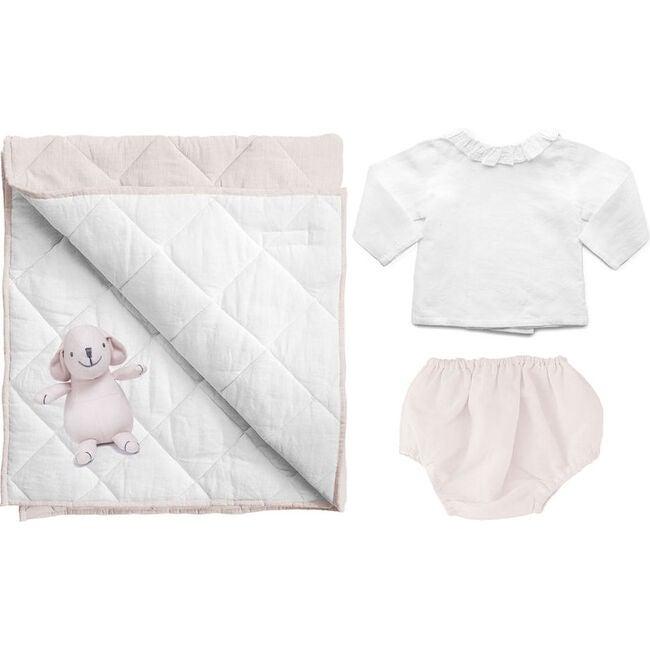 Newborn Essentials Blossom Pink Linen