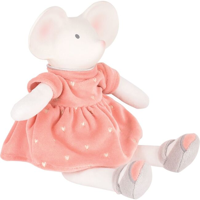 Meiya the Mouse Natural Rubber Head with Party Dress