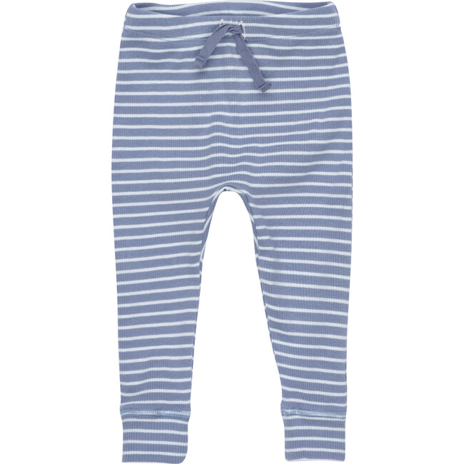Baby Ricki Pant, Blue & Light Blue Stripe