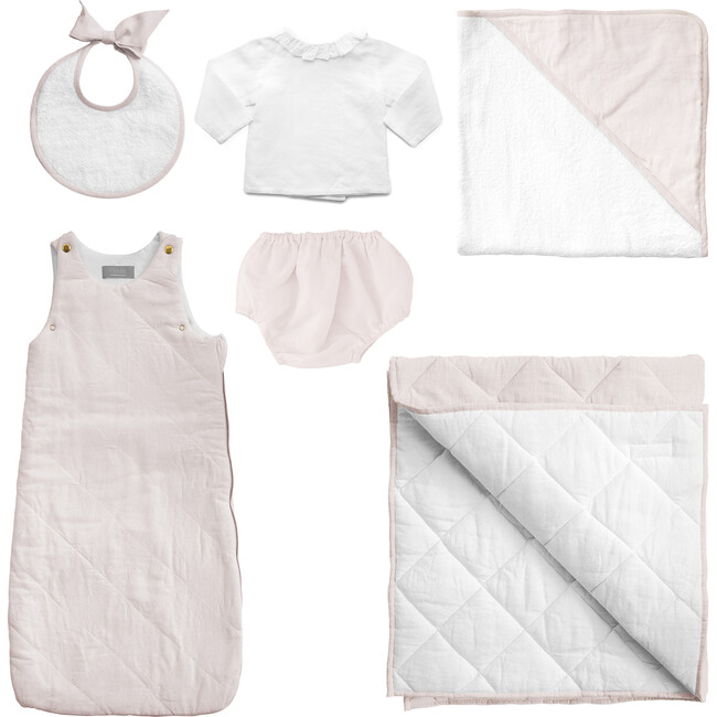 *Exclusive* Luxe Baby Gift Set, Blossom Pink
