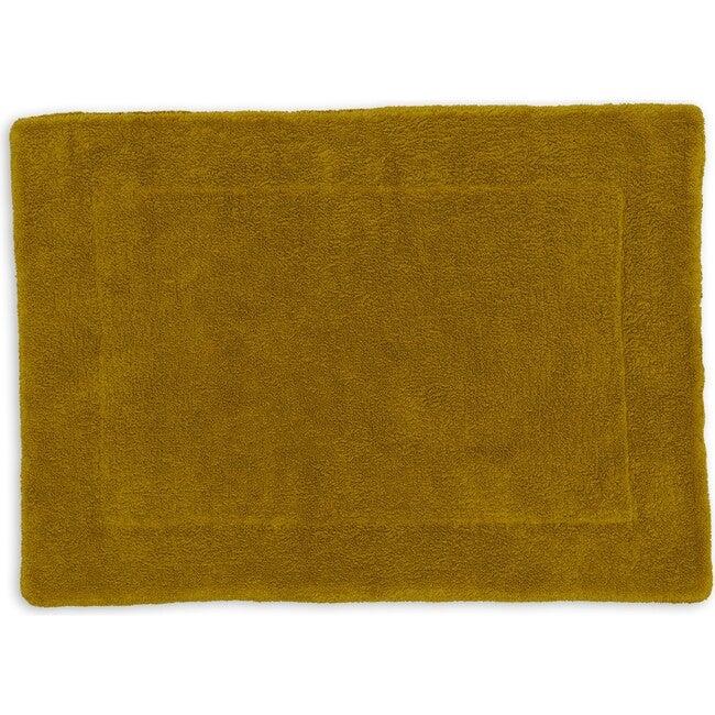 Simple Terry Bath Mat, Mustard