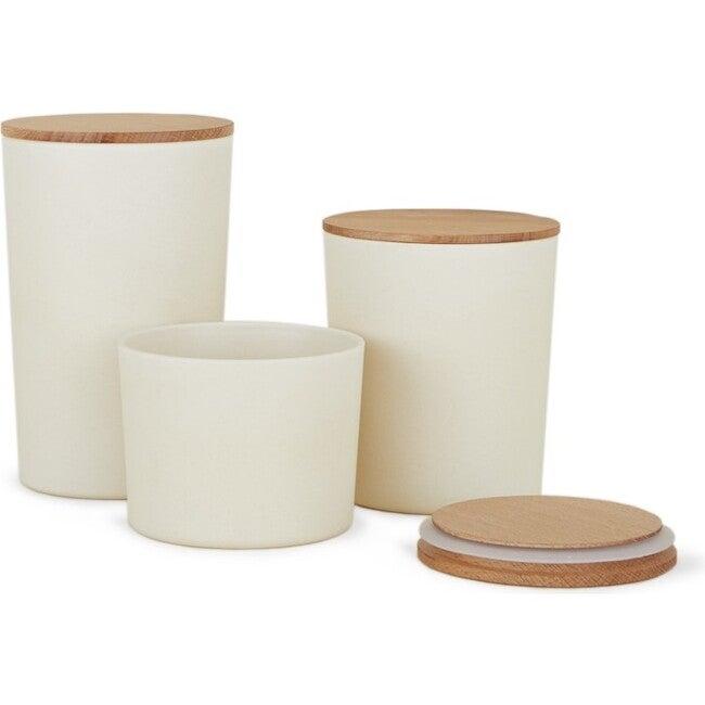 Essential Storage Container Set, Ivory