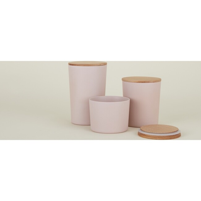 Essential Storage Container Set, Blush