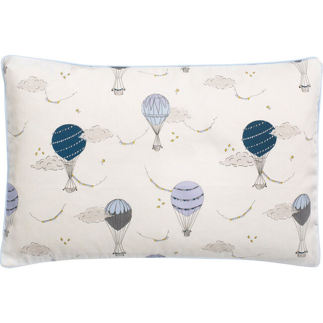 Touch The Sky Toddler Pillow, Blue