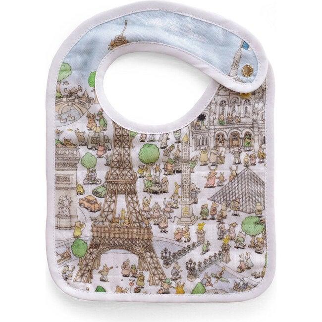 *Exclusive* Swaddle & Bib Gift Set, Atelier Choux's Paris