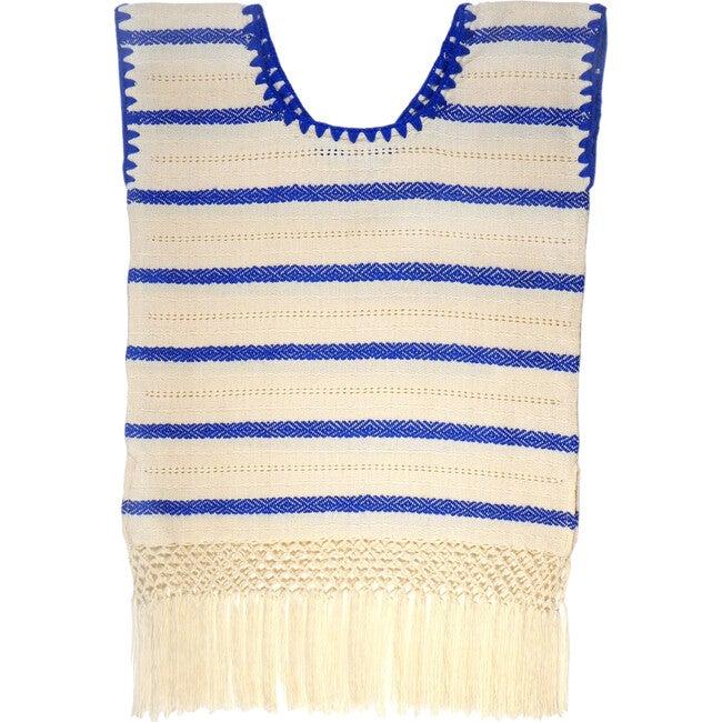 *Exclusive* Mini Lidia Tunic Dress, Navy Stripe - Cover-Ups - 1