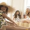 *Exclusive* Mini Lidia Tunic Dress, Navy Stripe - Cover-Ups - 3
