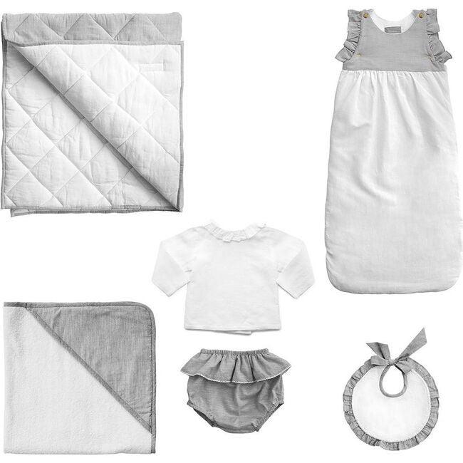 *Exclusive* Luxe Baby Gift Set, Husk Grey