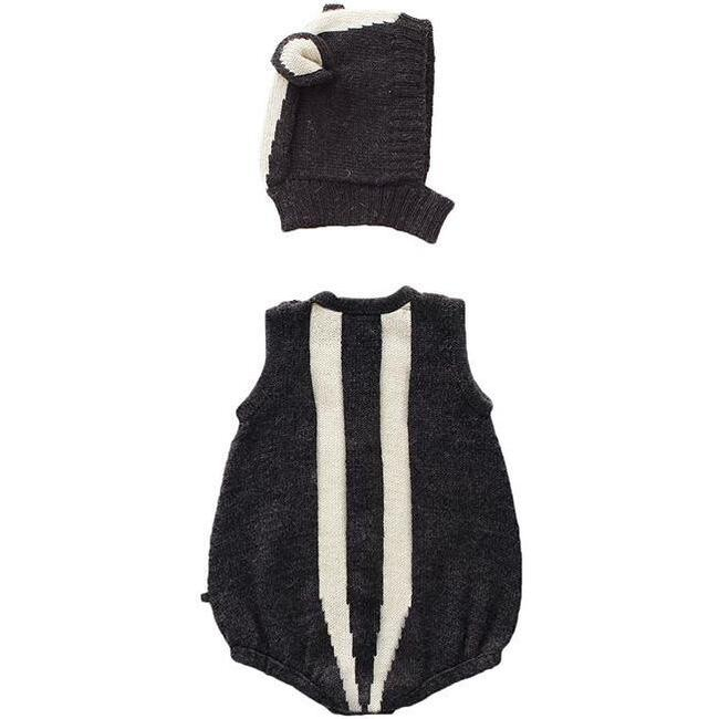 Two Piece Skunk Set, Black