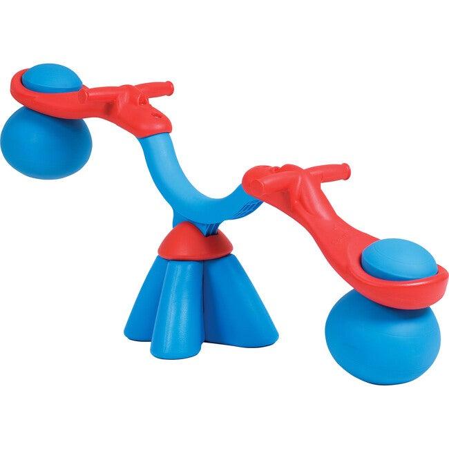Spiro Bouncer Seesaw, Blue/Red
