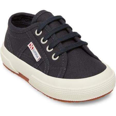 Classic Canvas Lace Up, Navy - Sneakers - 1