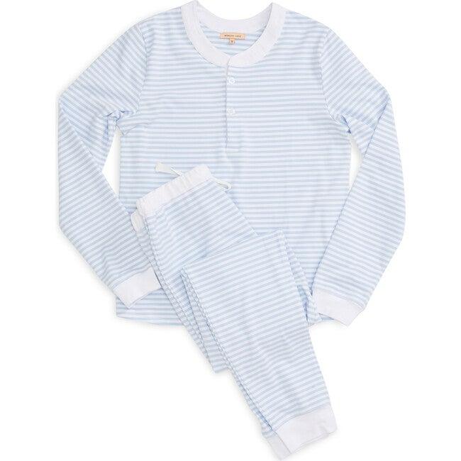 Women's Kaia PJ Set, Sky - Pajamas - 1
