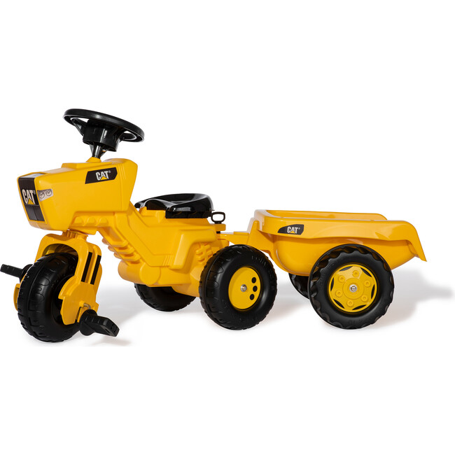 CAT Three Wheel Tractor with Trailer