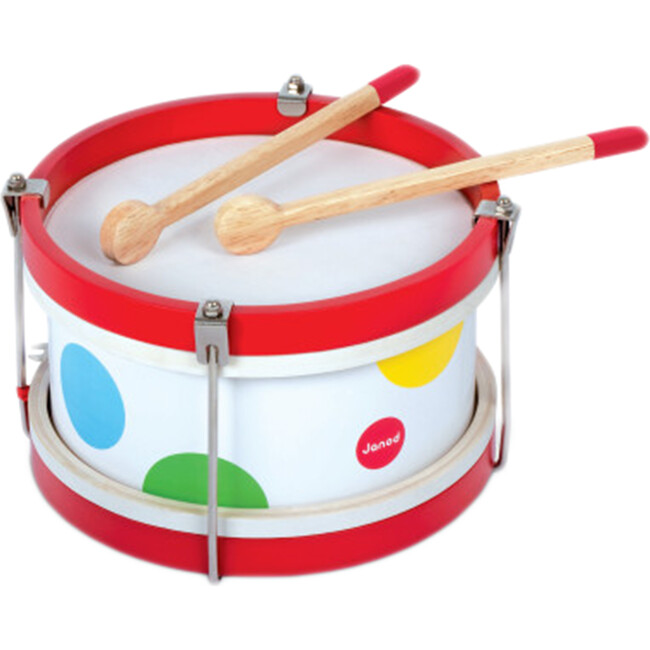 Confetti Wooden Drum - Musical - 1