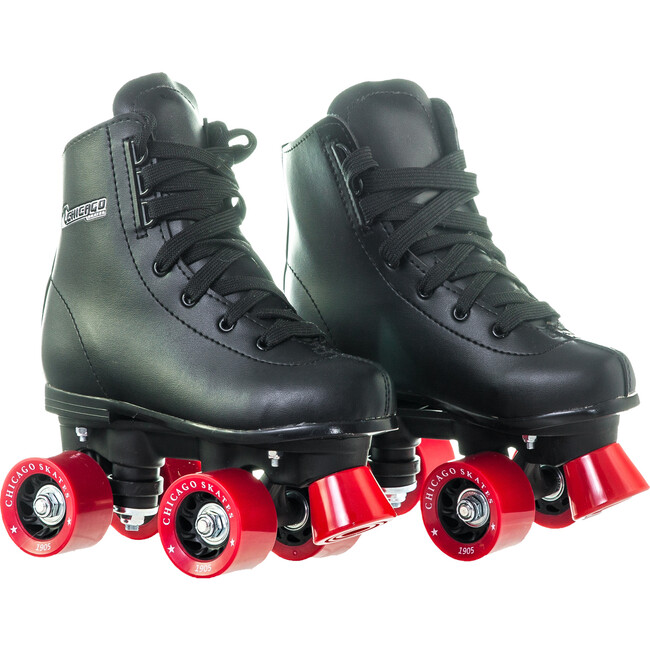 Rink Skates, Black/Red