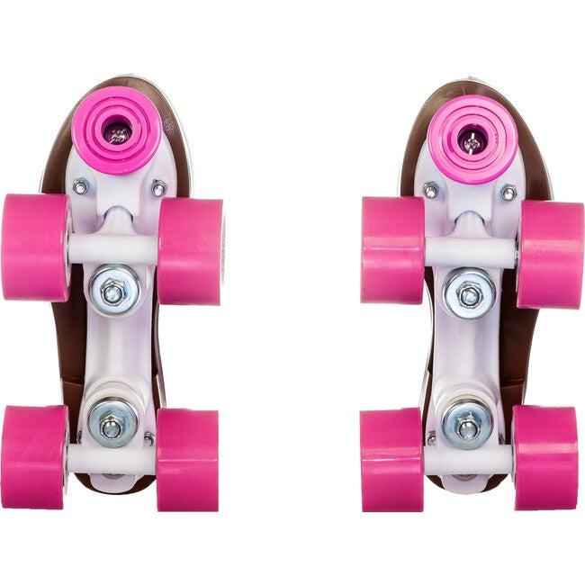 Rink Skates, White/Pink