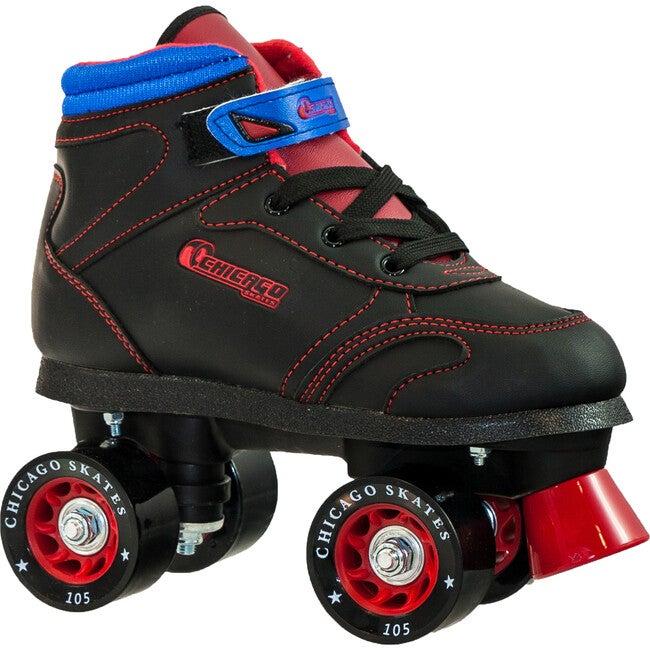 Sidewalk Skate, Black/Red