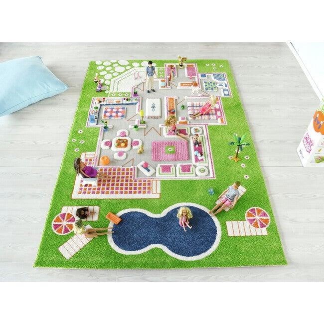 Play House 3-D Activity Mat, Green Large