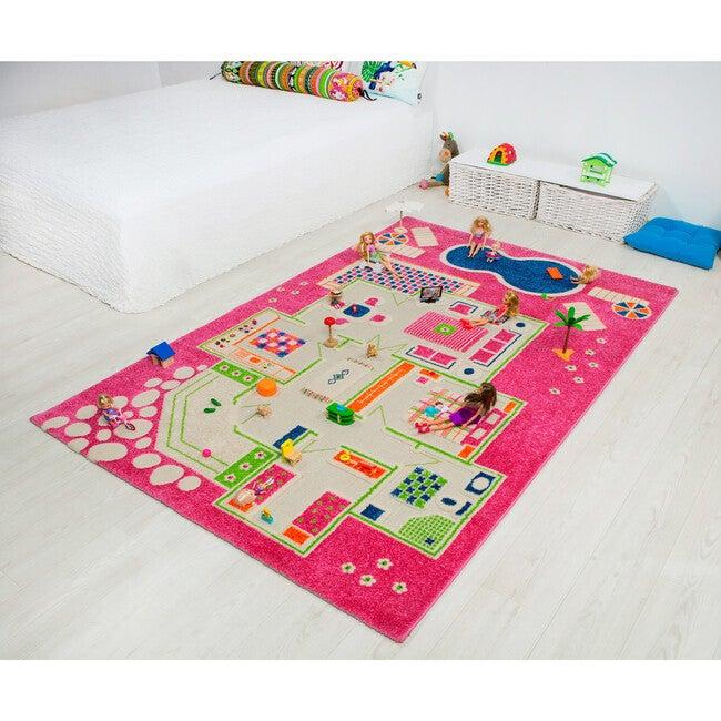 Play House 3-D Activity Mat, Pink Large