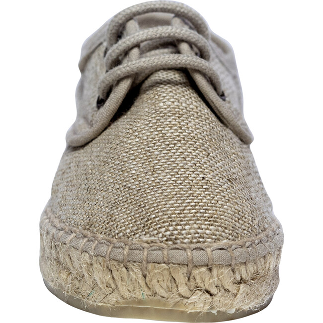 Lace-up Espadrille, Natural