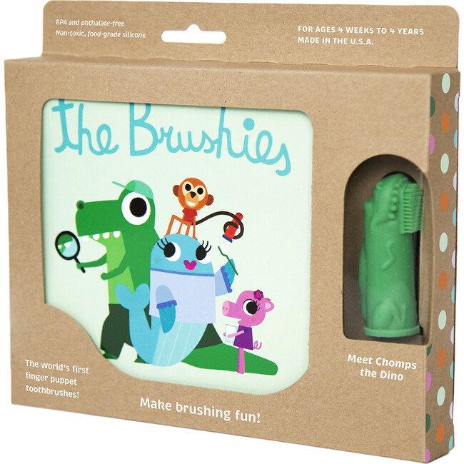 Chomps the Dino Toothbrush with Book