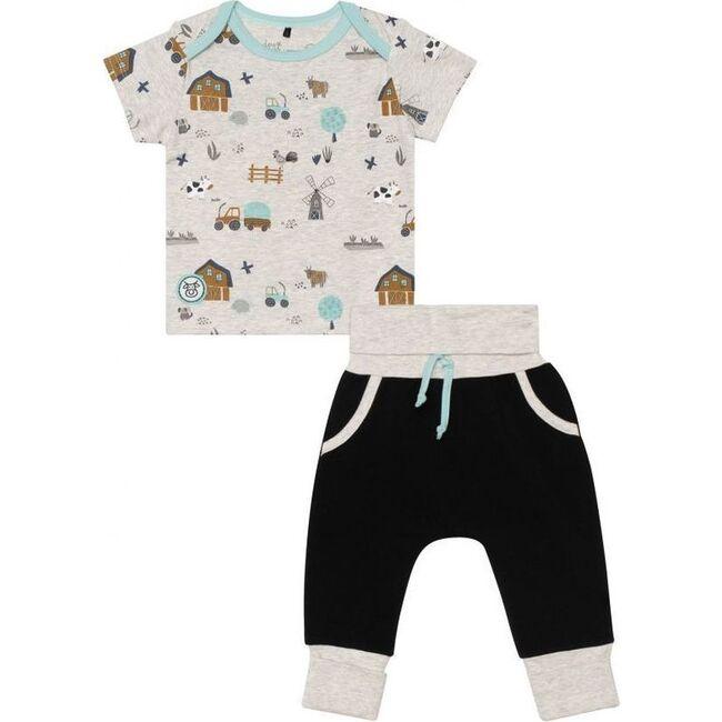 Farm Printed Outfit Set