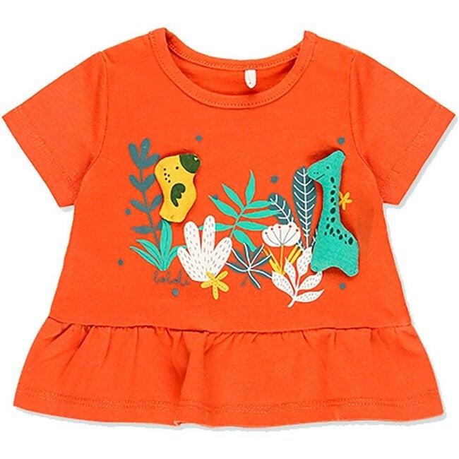 Animals Outfit Set, Orange