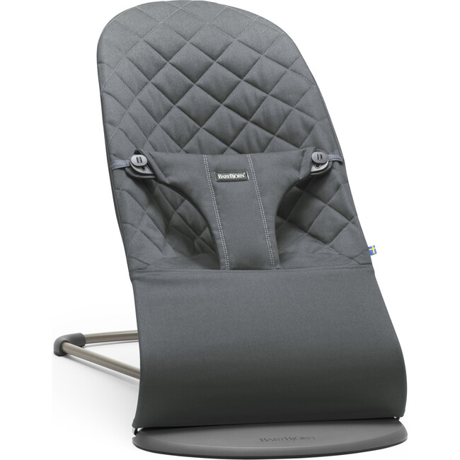Bouncer Bliss Quilted Cotton, Anthracite