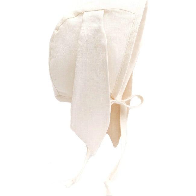 Ivory Bunny Bonnet