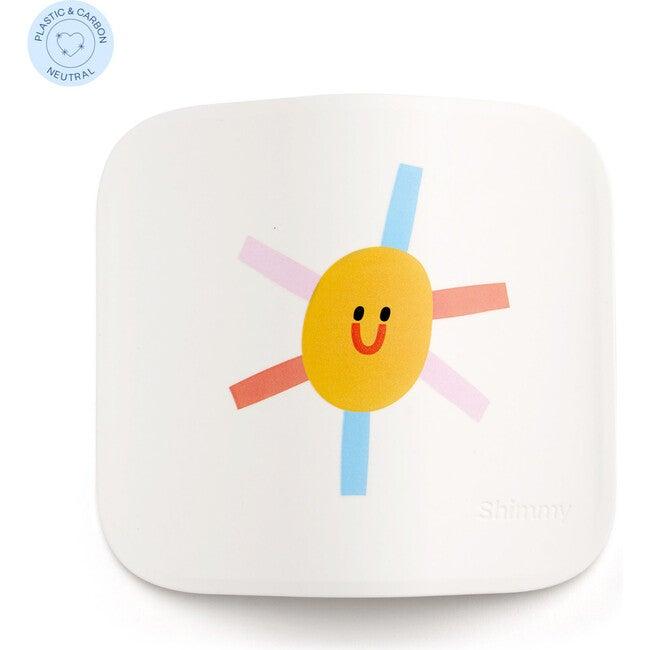Shimmy x Maisonette Sanitizing Station Faceplate, White Sun