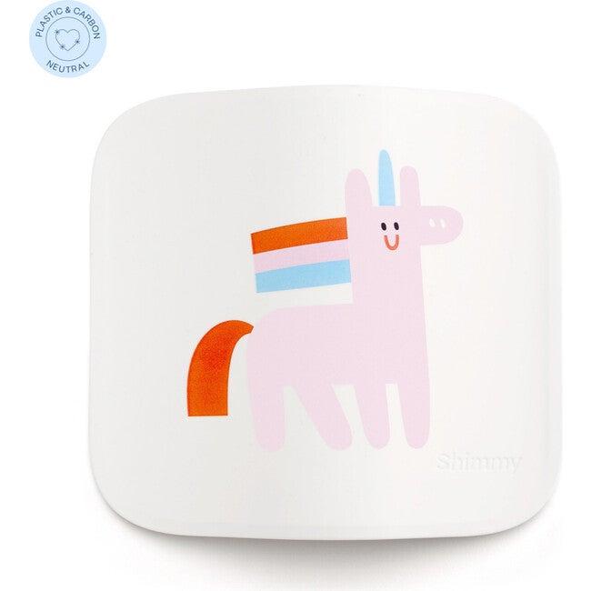Shimmy x Maisonette Sanitizing Station Faceplate, White Unicorn
